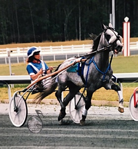 Lucky Pickle standardbred Trotter Nancy Lisi driver