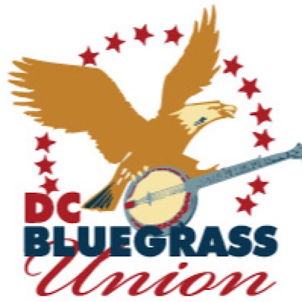 Eagle riding on a banjo