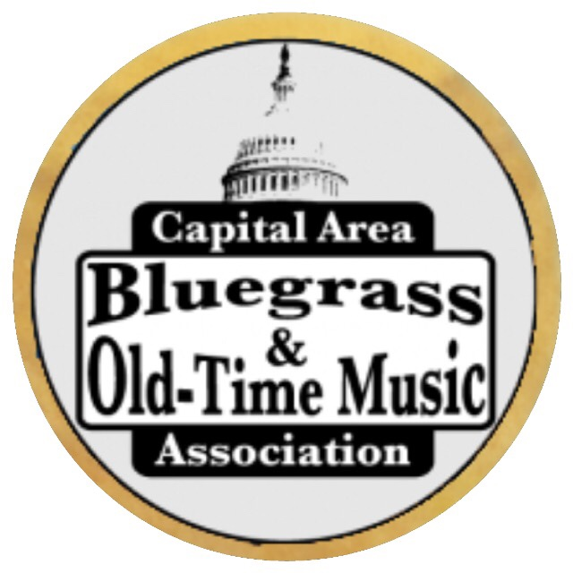 Capitol building logo for Capital Area Bluegrass and Old Time Musi Association