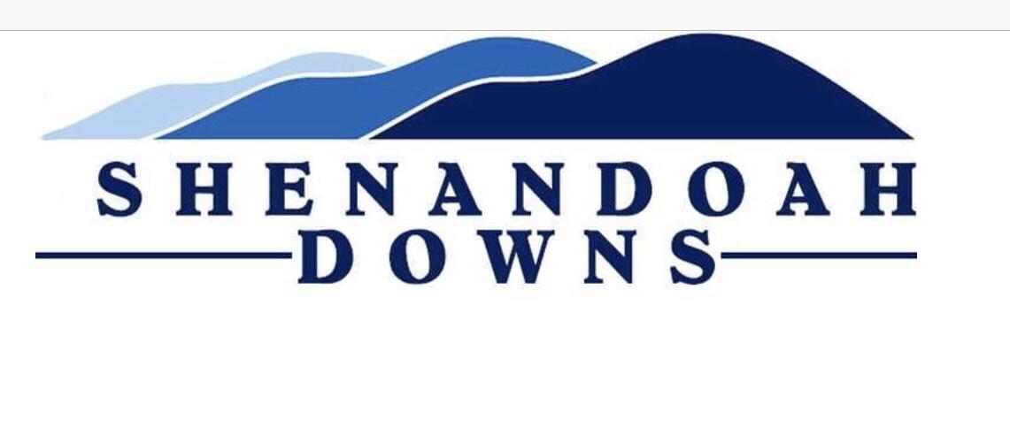 Blue Ridge Mountains Shenandoah Downs logo