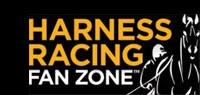 side of harnes horse gold letters on black Harness Racing Fan Zone