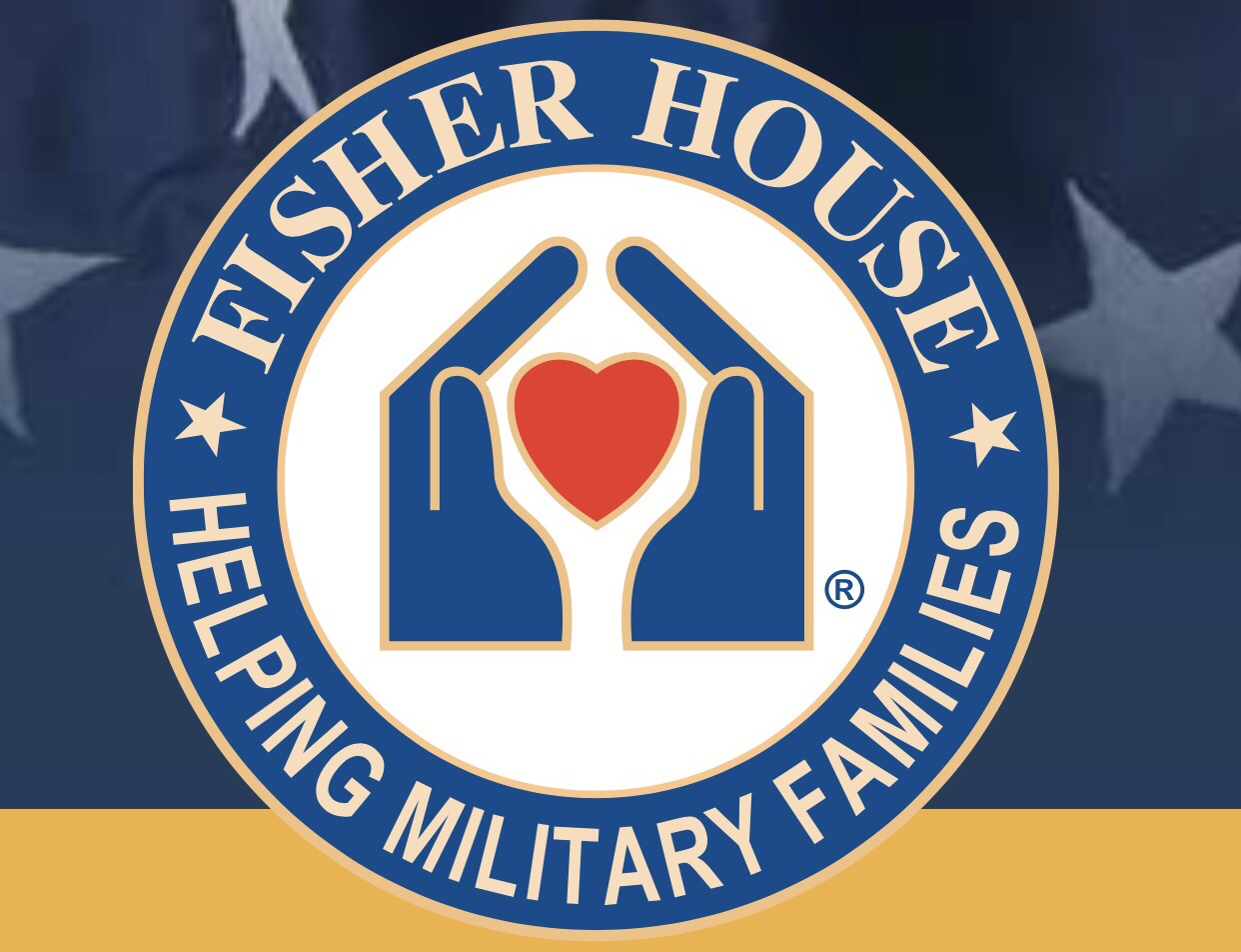 hands around a heart symbolizes helping military families