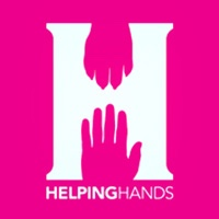 large letter H pink background Helping Hands logo lo cost veterinary care