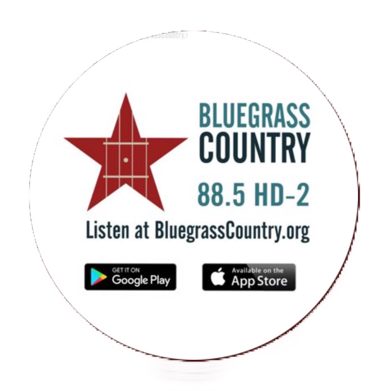 Bluegras country radio