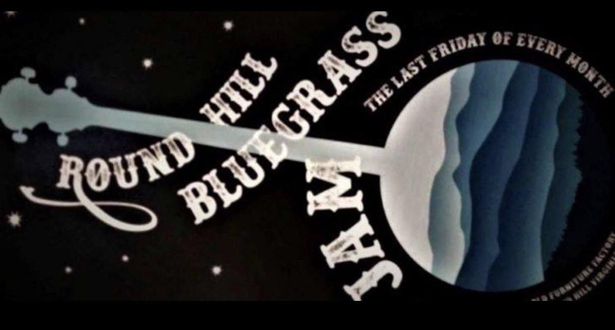 Jam session Bluegrass round Hill va
