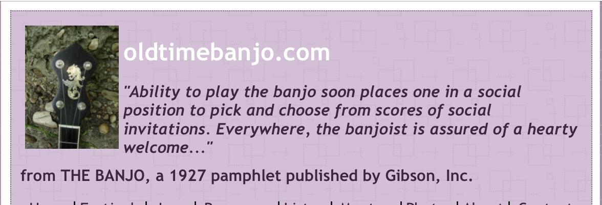 banjo and funny saying