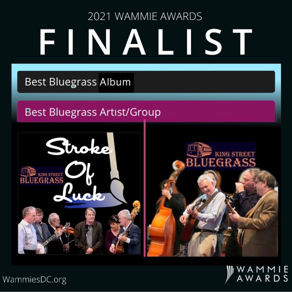 King Street Bluegrass WAMMIE award finalists
